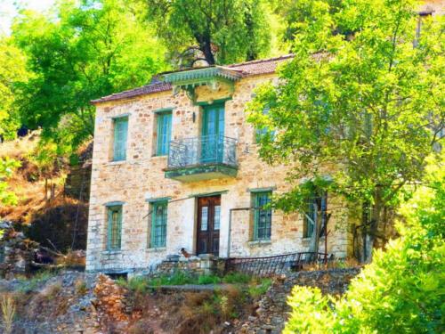 Αρχοντικό σπίτι στον ιστορικό οικισμό Παλιάς Βίνιανης © Γρηγόρης Αντωνίου