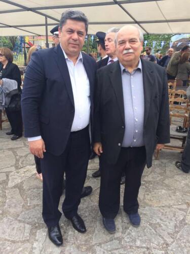 Ο Δήμαρχος με τον Πρόεδρο της Βουλής