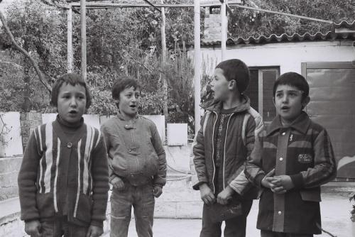Στη Δάφνη, τη δεκαετία του ΄80 © Γιάννης Καστρίτσης