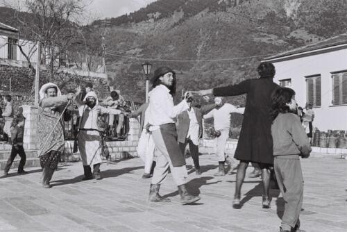 Καρναβάλι στη Δάφνη, τη δεκαετία του '80 © Γιάννης Καστρίτσης