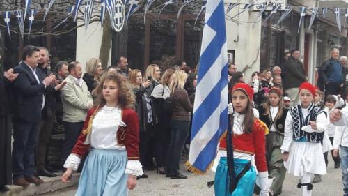 Παρέλαση, Φραγκίστα