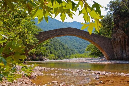 Το γεφύρι της Βίνιανης © Πάνος Καντερές