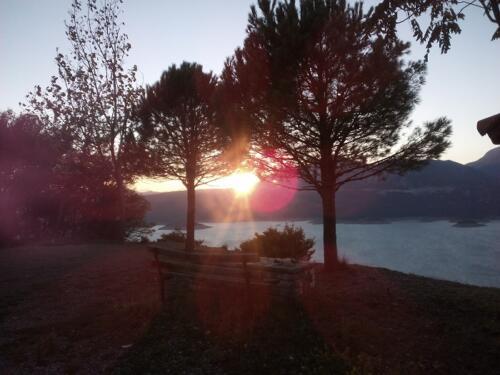 Ηλιοβασίλεμα στον Τριπόταμο © Δημήτρης Τουφεκούλας