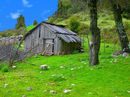 Καλύβα σε λημέρι του...Λημερίου © Ντίνος Αλέστας