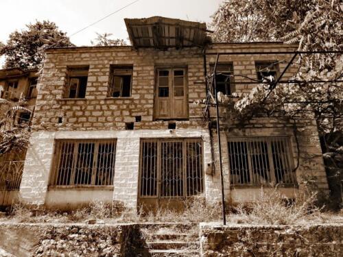 Παλιό καφενείο στην Παλιά Βίνιανη © Γρηγόρης Αντωνίου