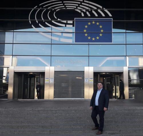 Ο κ. Μπαμπαλής στις Βρυξέλλες