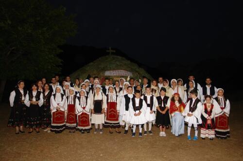 Χορευτικό  Συλλόγου Τροβάτου στο Κονάκι © Σύλλογος Τροβάτου