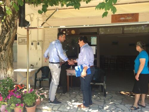 Συνελεύσεις Κ. Μπακογιάννη στο Δήμο Αγράφων