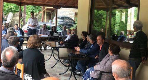 Συνελεύσεις Κ. Μπακογιάννη στο Δήμο Αγράφων2