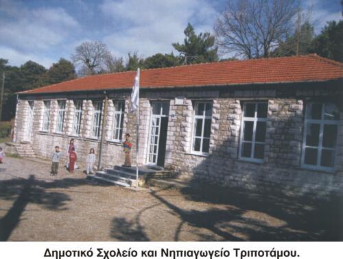 Δημοτικό Σχολείο και Νηπιαγωγείο Τριποτάμου © Σύλλογος  Τριποταμιτών Αιτωλοακαρνανίας
