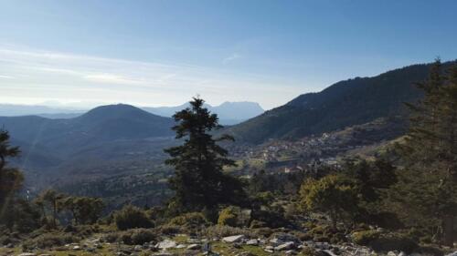 Με θέα το Κερασοχώρι © Θεοδοσία Ντάλλα