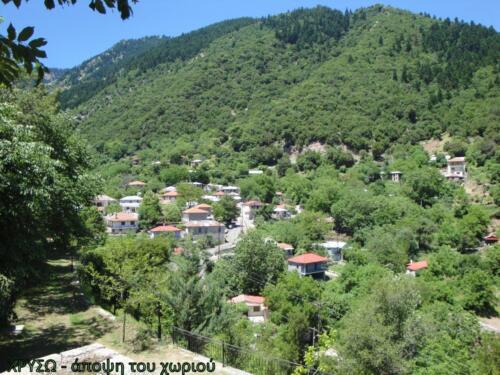 Χρυσω - Άποψη του χωριού