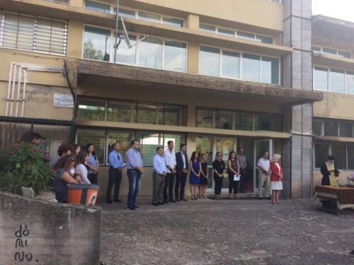 Αγιασμός σε σχολεία Δήμου Αγράφων (11/9/2019)